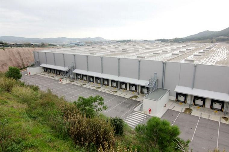 Centro Logistico Palafols - Inditex